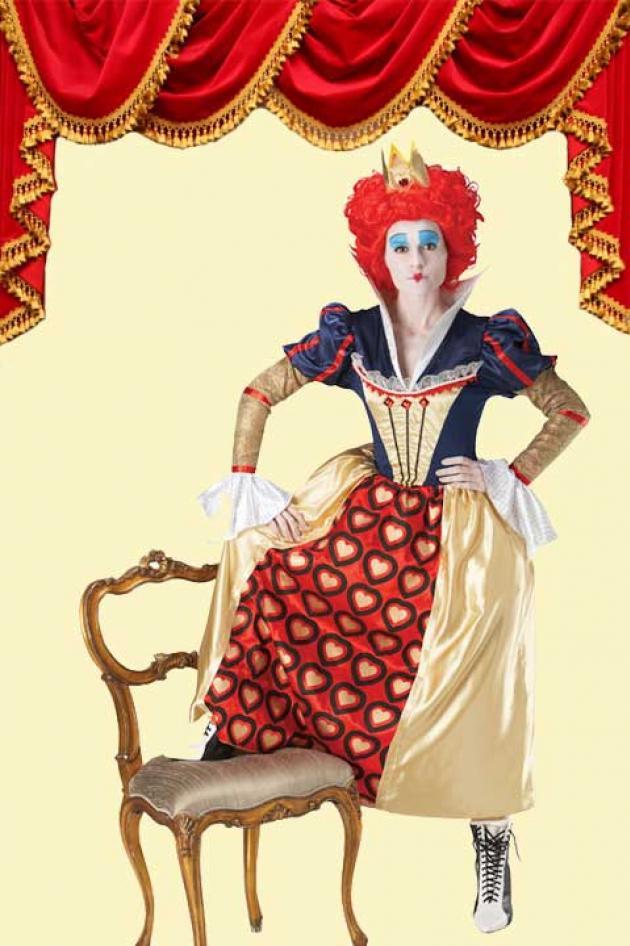 Kostuum Red Queen