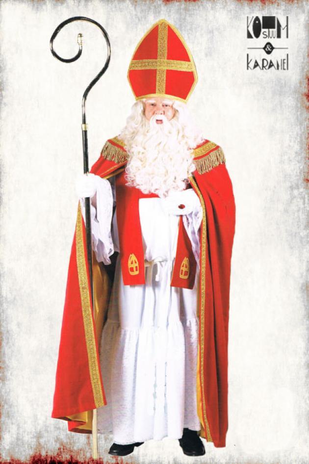 Sinterklaas Kostuum Fluweel