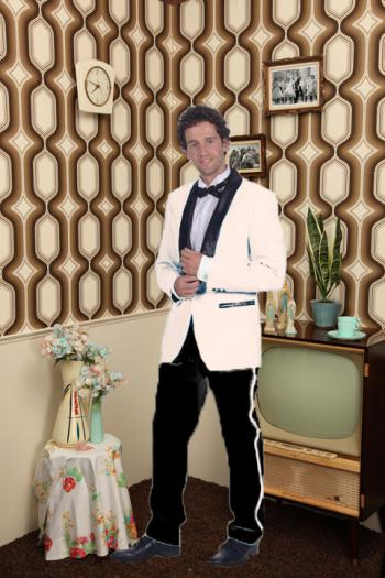 White suit 50's