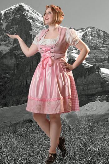 Tirolerkleed Edelweis