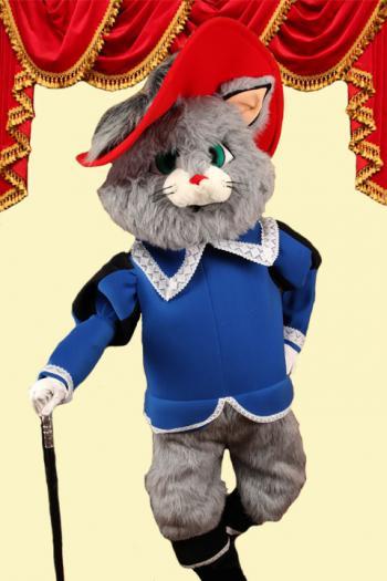 Mascotte Gelaarsde Kat