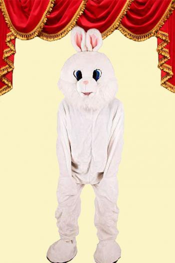 Kostuum Konijn Wit