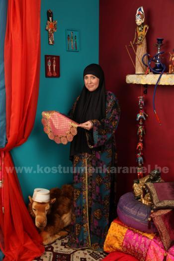 Marrokaanse marktvrouw