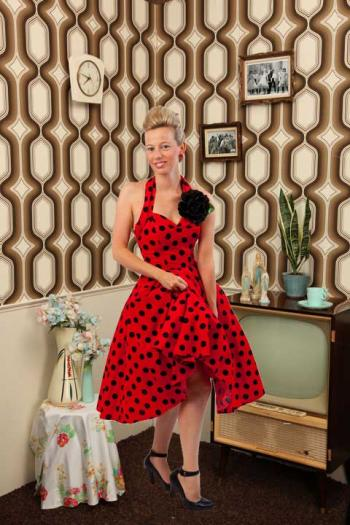 Halter jurk, Elizabeth