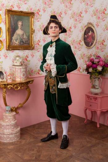 Markies Kostuum Luxe Groen