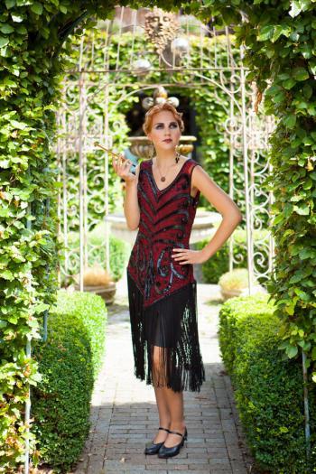 Charleston kleedje Amalia