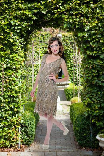 Charleston jurk Norah