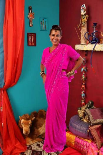 Saree Ganesha
