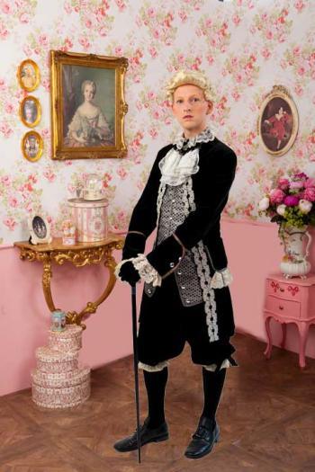 Barok Kleding Man Luxe