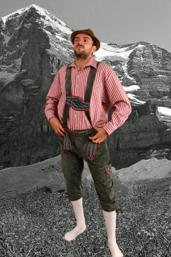Tiroler Kostuum Heren Bodo